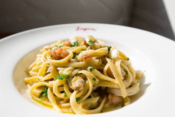 An applause for the seafood linguini. Top most appreciated dish this Autumn.